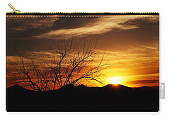 Sunset Carry-all Pouch by Joseph Frank Baraba