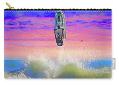 Sunset Jumper Carry-all Pouch by Alice Gipson