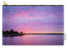 Sunset Lake Arlington Texas Carry-all Pouch