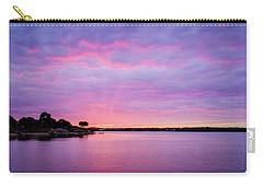 Sunset Lake Arlington Texas Carry-all Pouch