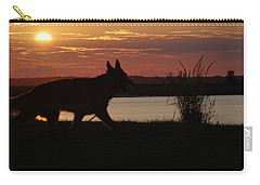 Sunset Lake Carry-all Pouch
