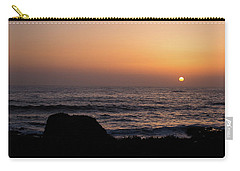 Carry-all Pouch featuring the photograph Sunset by Lora Lee Chapman
