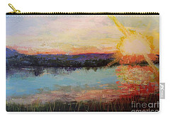 Sunset Carry-all Pouch by Marlene Book