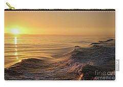 Sunset Meets Wake Carry-all Pouch by Suzanne Luft