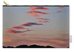 Sunset Mountain Skimmers Carry-all Pouch by John Glass