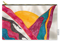 Sunset Mountains Carry-all Pouch