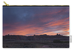 Sunset Near Court House Wash Carry-all Pouch