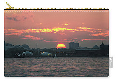 Sunset Nyc Harbor Carry-all Pouch
