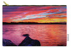 Sunset Of Fire Carry-all Pouch