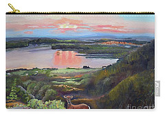 Sunset On At Legacy Bay - Paradise - Deer Carry-all Pouch