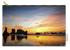 Sunset On Bandon Carry-all Pouch