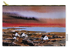 Sunset On Bungowla, Inishmor, Aran. Carry-all Pouch