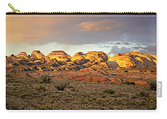 Sunset On Capitol Reef Carry-all Pouch