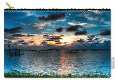 Sunset On Cedar Key Carry-all Pouch