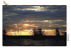 Carry-all Pouch featuring the photograph Sunset On Chobe River by Betty-Anne McDonald