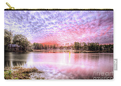 Sunset On Flint Creek Carry-all Pouch