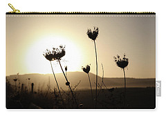 Carry-all Pouch featuring the photograph Sunset On Galilee Road by Yoel Koskas