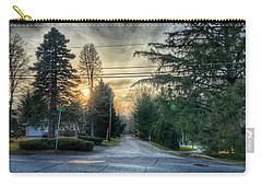 Sunset On Hilltop Drive Carry-all Pouch