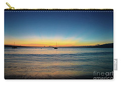 Sunset On Ka'anapali Beach Carry-all Pouch by Kelly Wade