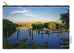 Sunset On Long Bayou Carry-all Pouch by Paul Mashburn