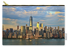 Sunset On Lower Manhattan Carry-all Pouch