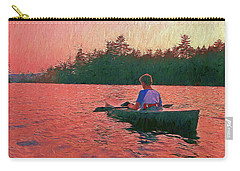 Sunset On Parker Pond Carry-all Pouch