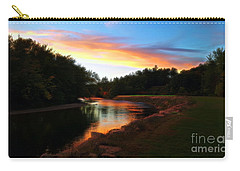 Sunset On Saco River Carry-all Pouch