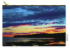 Sunset On Seal Cove Carry-all Pouch