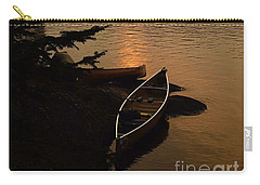 Sunset On Shell Lake Carry-all Pouch