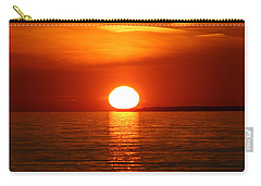 Sunset On Superior Carry-all Pouch