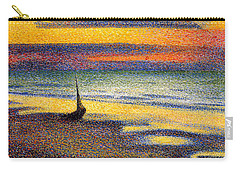 Sunset On The Beach 1891 Carry-all Pouch