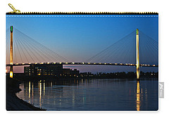 Sunset On The Bob Kerry Pedestrian Bridge Carry-all Pouch