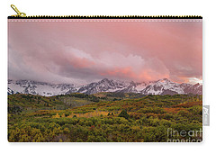 Sunset On The Dallas Divide Ridgway Colorado Carry-all Pouch