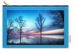 Sunset On The Diagonal Carry-all Pouch