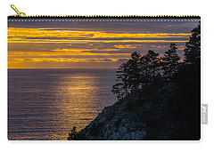Sunset On The Edge Carry-all Pouch