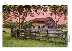 Sunset On The Farm Carry-all Pouch by Mary Timman