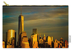 Sunset On The Financial District Carry-all Pouch