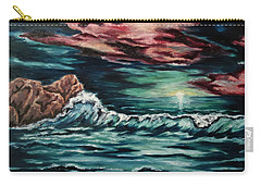 Sunset On The Horizon Carry-all Pouch by Cheryl Pettigrew