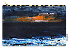 Sunset On The Horizon Carry-all Pouch