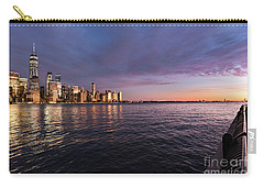 Sunset On The Hudson River Carry-all Pouch
