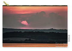 Sunset On The Lake Velence Paint Carry-all Pouch