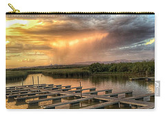 Sunset On The Marsh Carry-all Pouch
