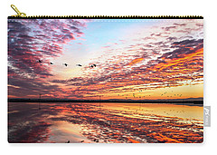 Sunset On The Pacific Flyway Carry-all Pouch