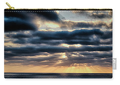 Carry-all Pouch featuring the photograph Sunset On The Pacific by Hugh Smith