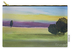 Sunset On The Plain Carry-all Pouch