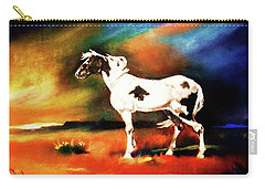 Sunset On The Plains Carry-all Pouch