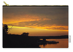 Sunset On The Shore  Carry-all Pouch by Don Koester