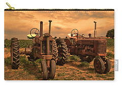 Sunset On The Tractors Carry-all Pouch