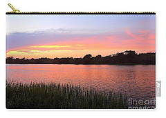 Sunset On The Waterway Carry-all Pouch