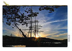 Sunset On The Whalers Carry-all Pouch